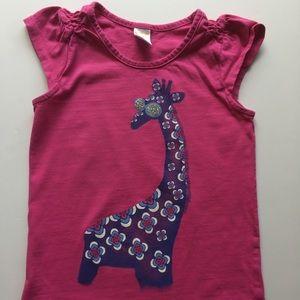 Gymboree giraffe tee